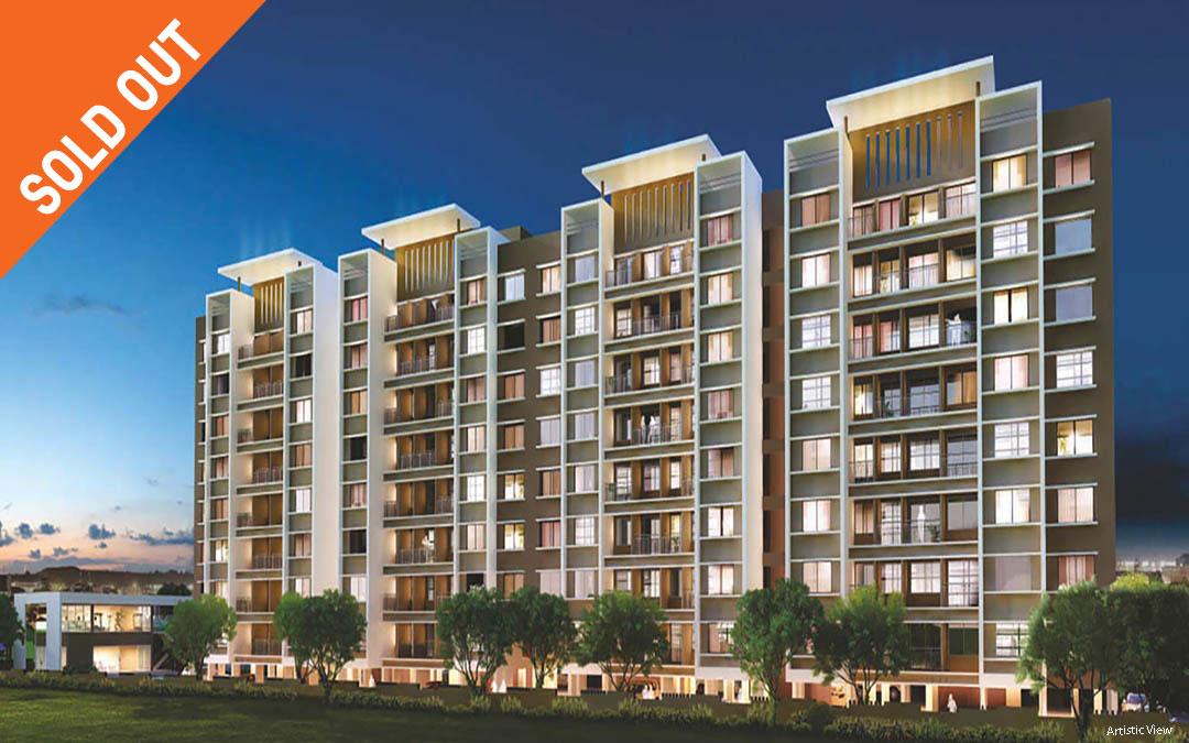 2 BHK flats in Moshi